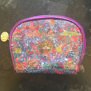 FREE W PURCHASE Ed Hardy Small Cosmetic Pouch